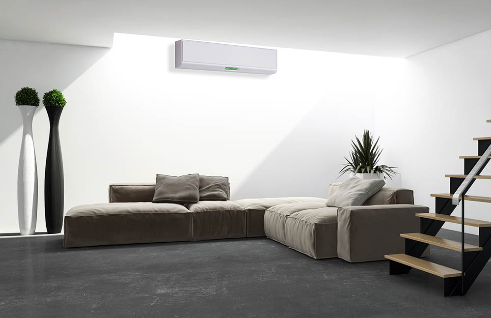 air conditioning system in modern building
