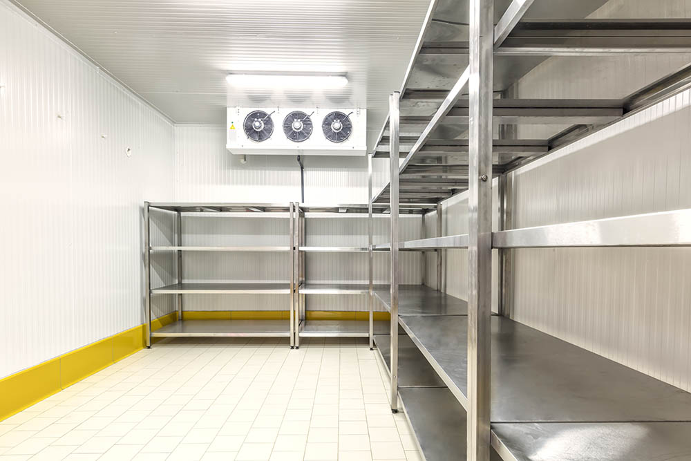 refrigerated store room
