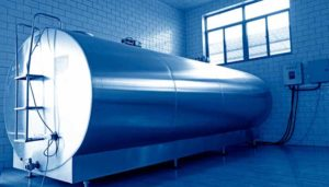 image of agricultural refrigeration tank
