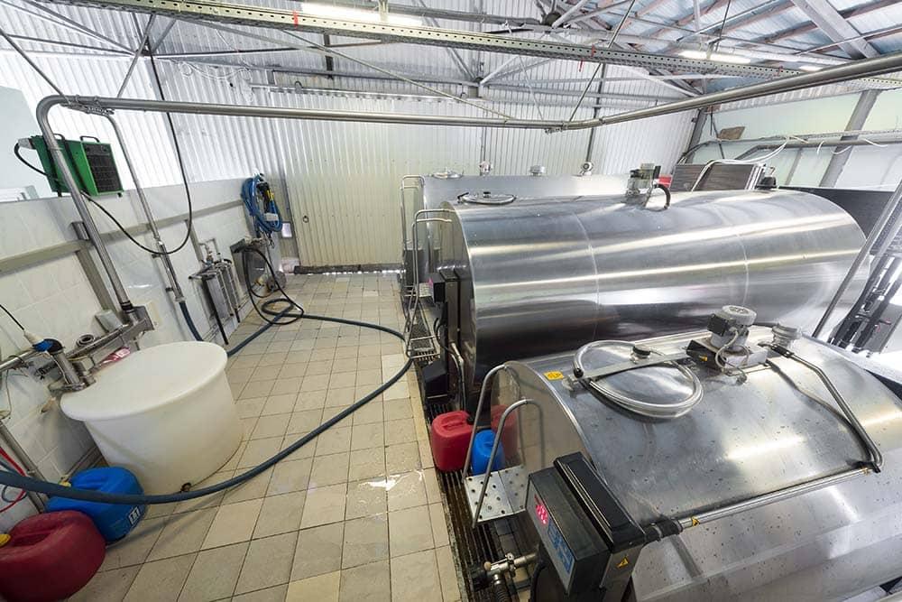 refrigeration milk tanks