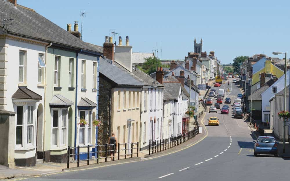 high street in honiton