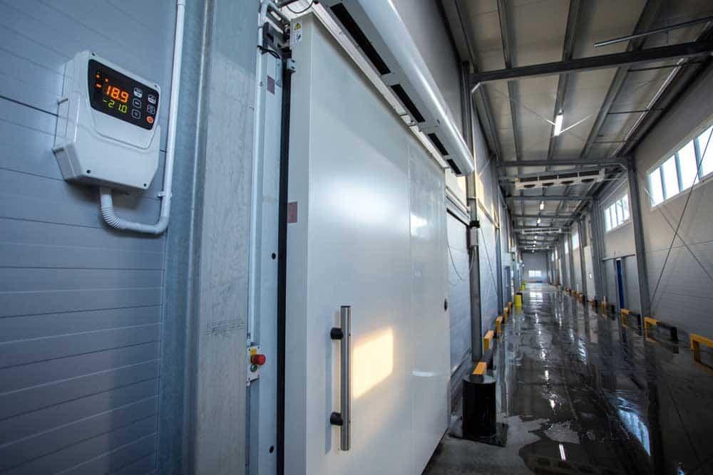large commercial fridge